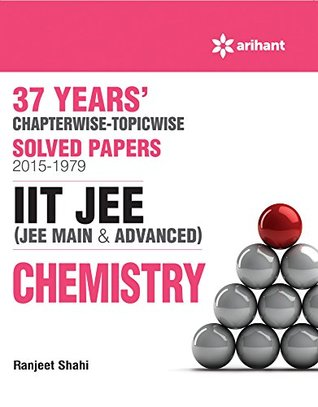 37 Years Chapterwise Solved Papers (2015-1979): IIT JEE - Chemistry