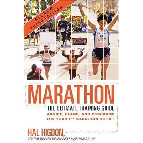 marathon training book reviews