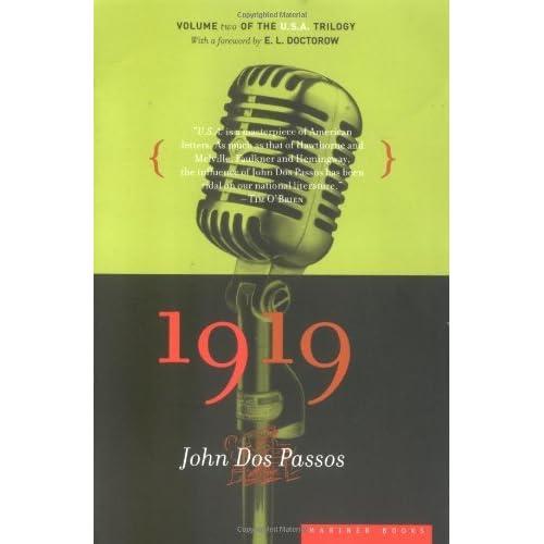 1919 (U.S.A., #2) by John Dos Passos