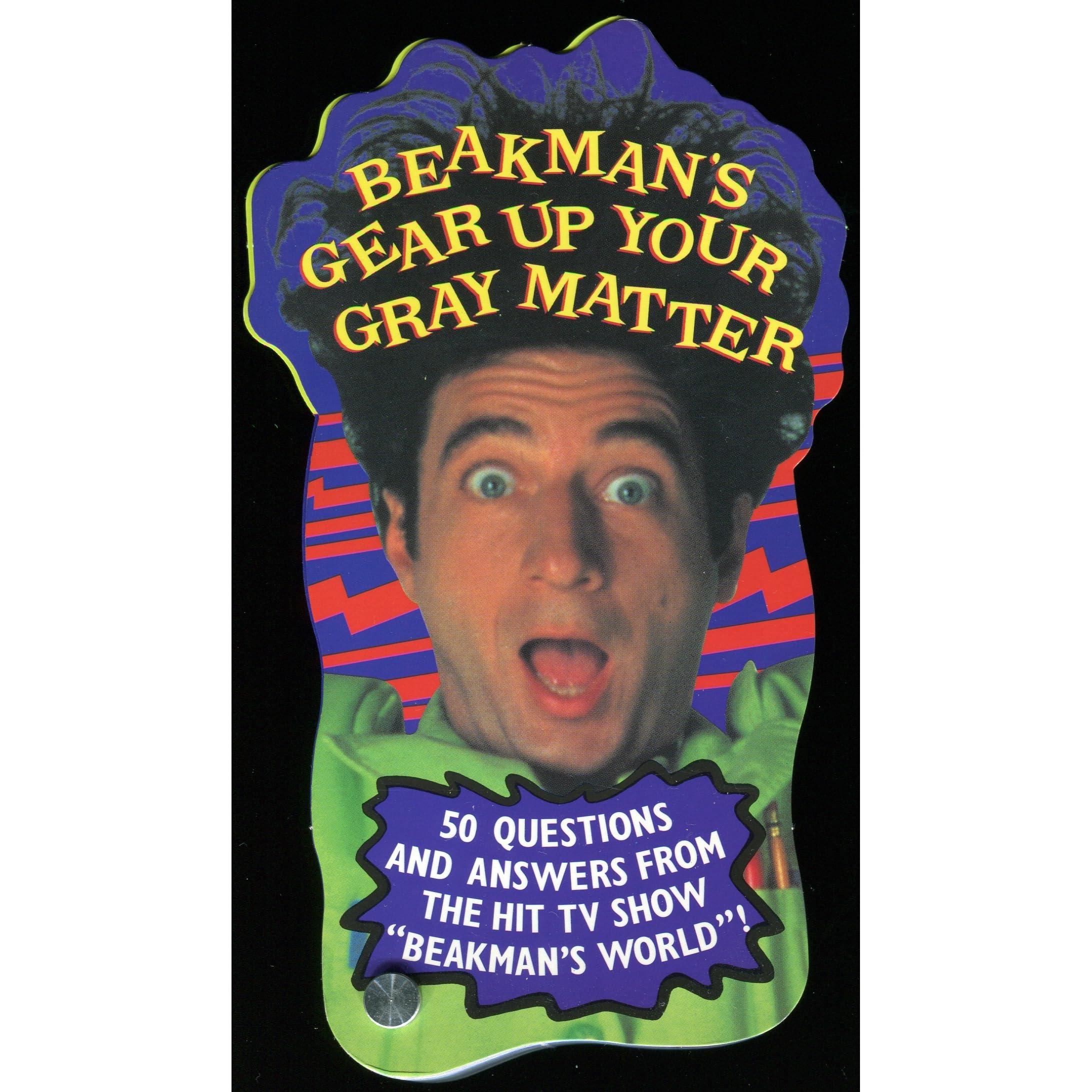 Beakman/'s World Gear Up Your Gray Matter Game NEW ISBN 0836270398