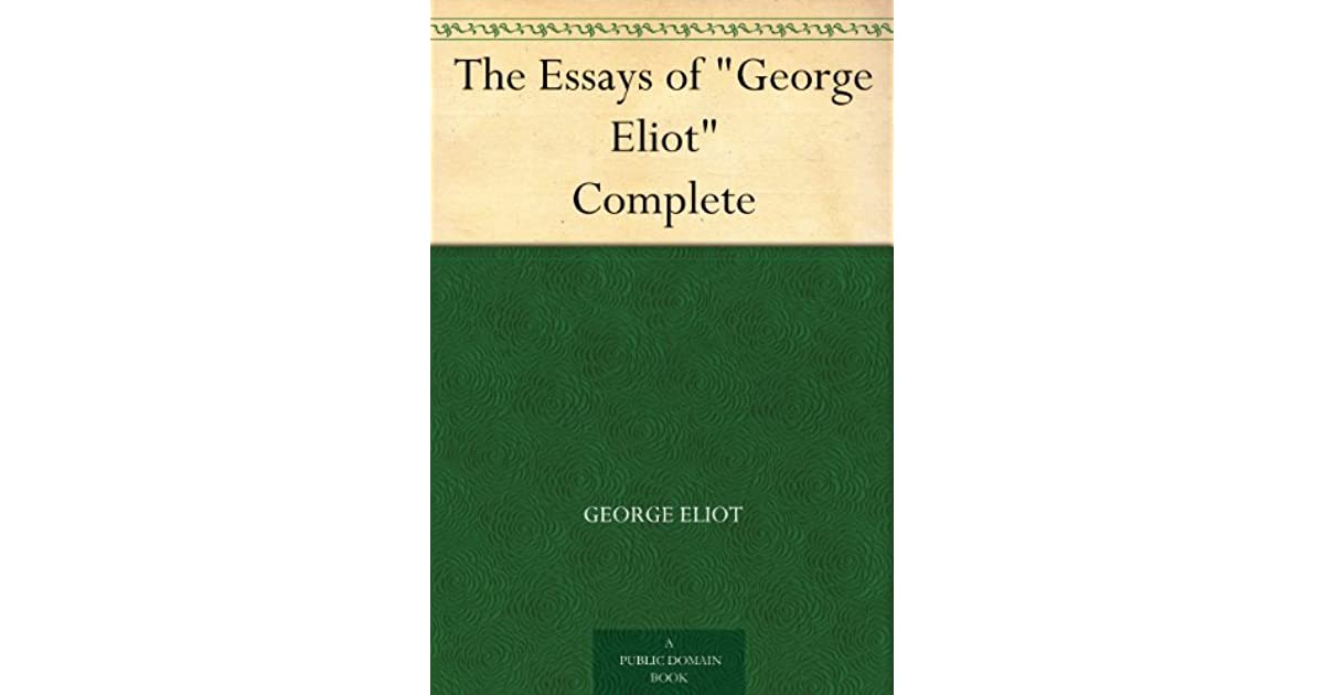 essays by george will Critical essays george willard's development george's development is a result of his experiences with the other disparate characters of the various tales.