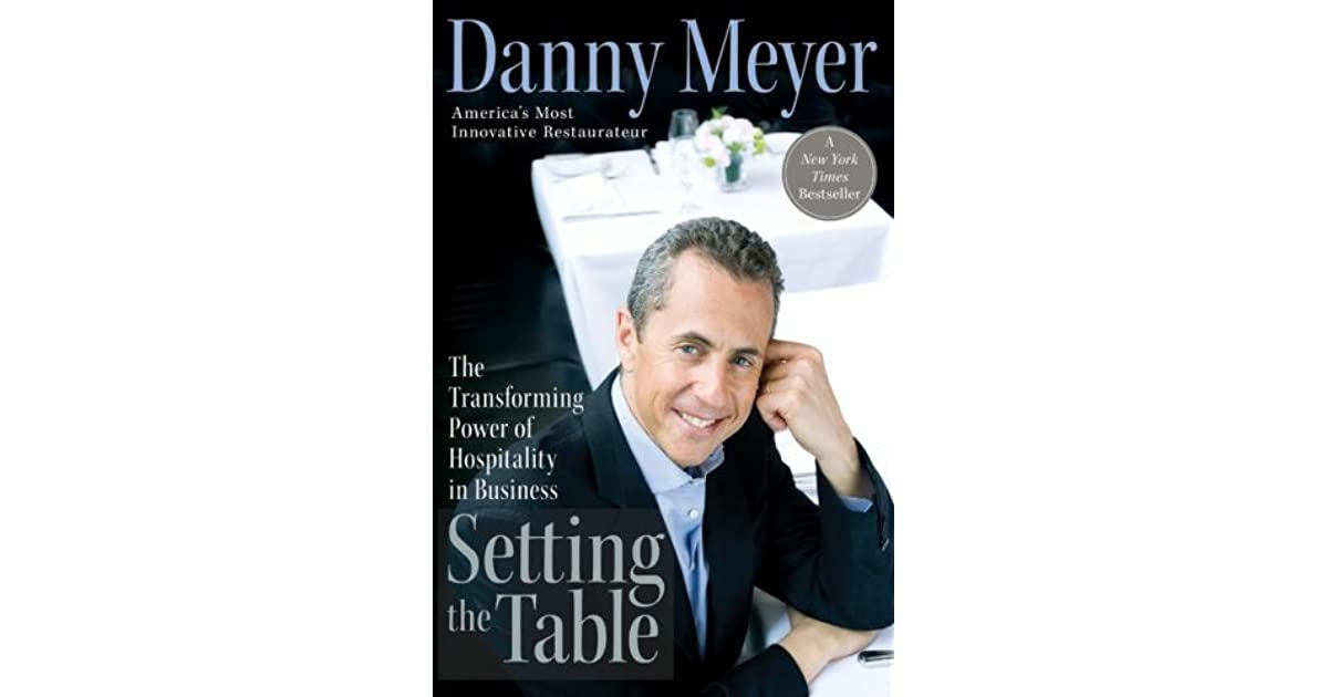 Setting the Table: The Transforming Power of Hospitality in