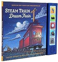 Steam Train  Dream Train Sound Book: (Sound Books for Baby, Interactive Books, Train Books for Toddlers, Children's Bedtime Stories, Train Board Books)