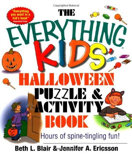 The Everything Kids Halloween Puzzle and Activity Book