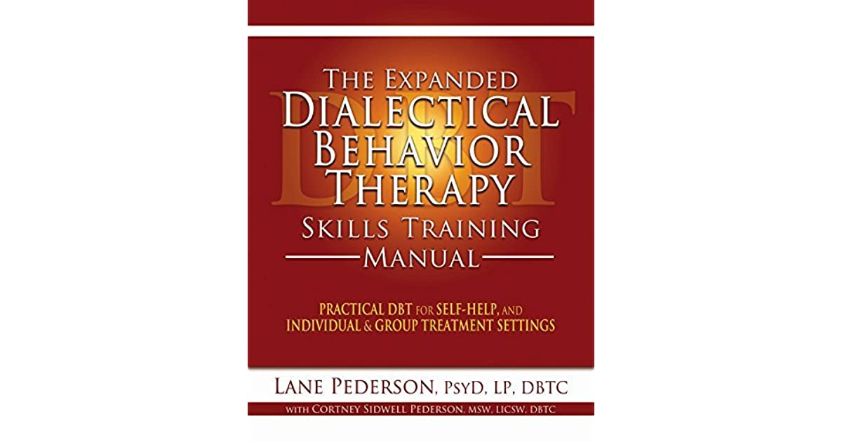 Group Settingsdialectical Behavioral Training