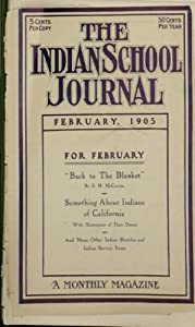 The Indian School Journal - Feb 1905