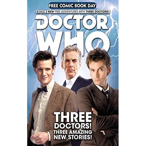 Free Comic Book Day España: Doctor Who: Free Comic Book Day By Nick Abadzis