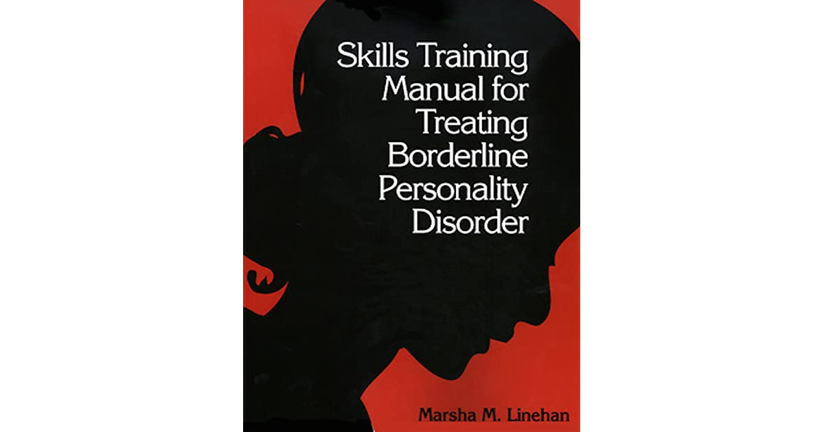 Cognitive Behavioral Treatment Of Borderline Personality Disorder Pdf