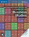 Cambridge IGCSE Business Studies Coursebook [with CD-ROM]