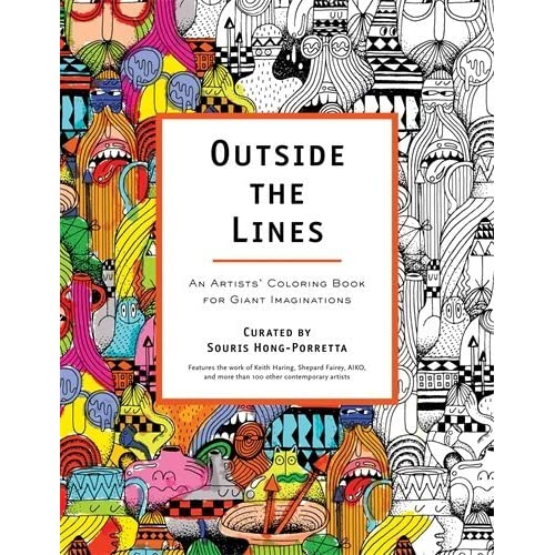 outside the lines an artists coloring book for giant imaginations by souris hong porretta - Outside The Lines Coloring Book