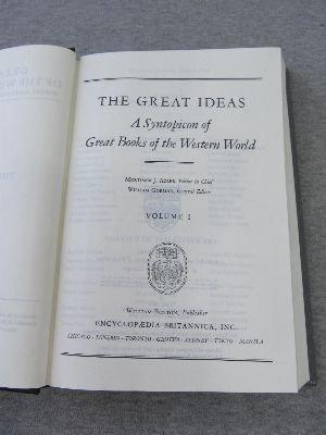 Great Books of the Western World by Mortimer J. Adler
