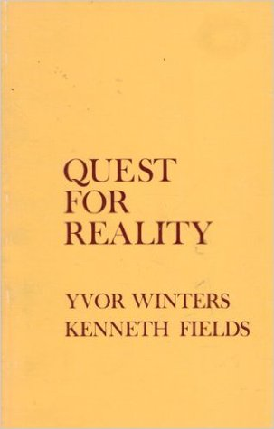 Quest for Reality: An Anthology of Short Poems in English by Yvor