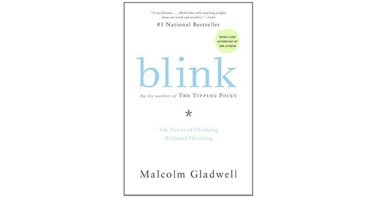 Blink Thinking Without Thinking Pdf