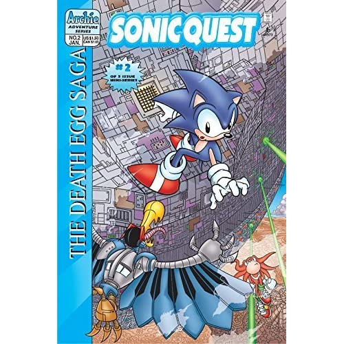 Sonic Quest The Death Egg Saga 2 By Mike Gallagher