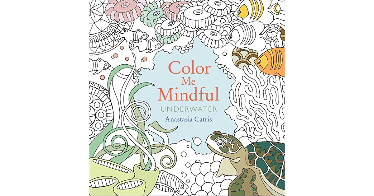 color me mindful underwater by anastasia catris - Color Me Books