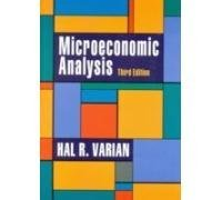 Microeconomic Analysis 3rd Edition