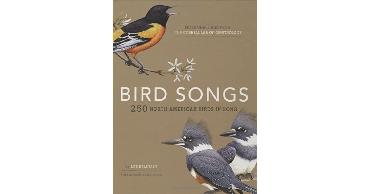 Bird Songs Of North America By Les Beletsky