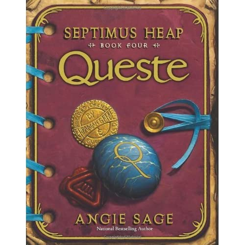 queste septimus heap by angie sage