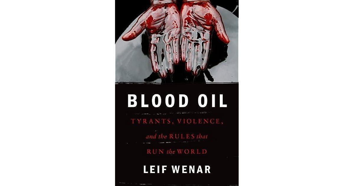 والنفط الدم
