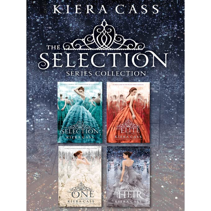 The Selection Series 1-4 Book Set by Kiera Cass