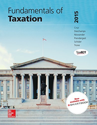 Fundamentals of Taxation 2018 Ed, 11th Edition