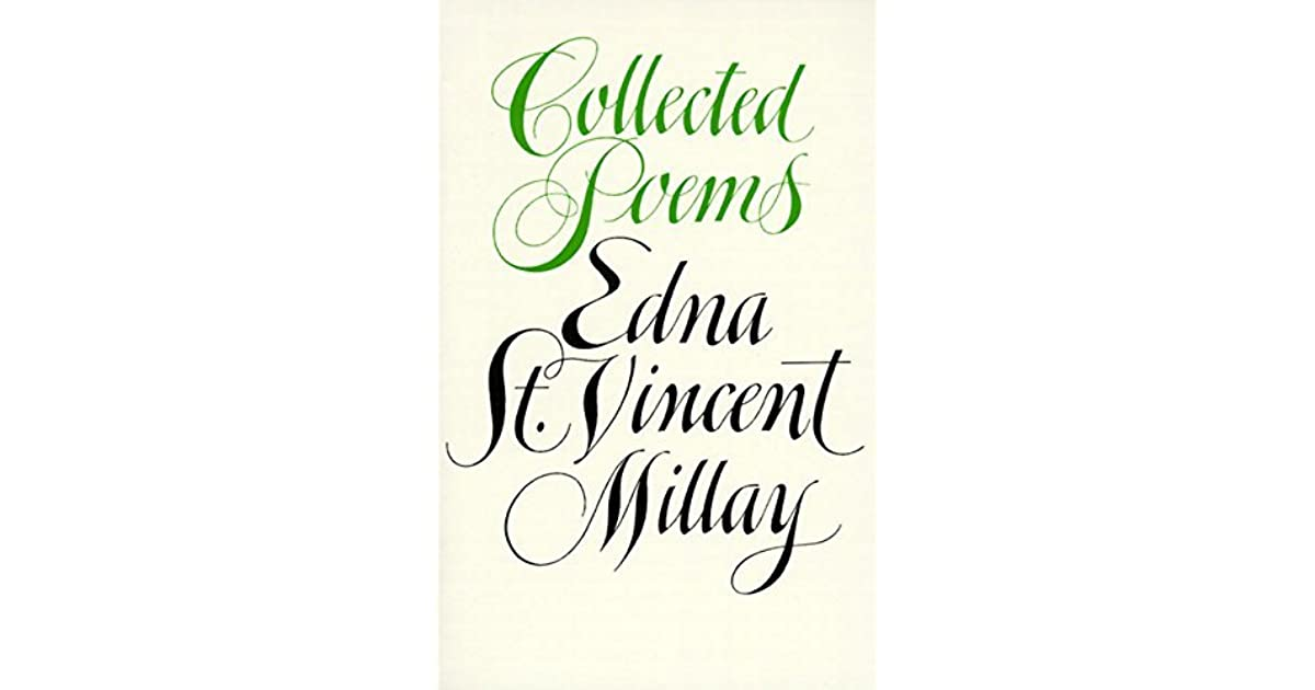 Collected Poems by Edna St  Vincent Millay