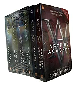 Vampire Academy - 6 Book Collection Pack - Vampire Academy / Frostbite - Shadow Kiss / Blood Promise - Spirit Bound / Last Sacrfice