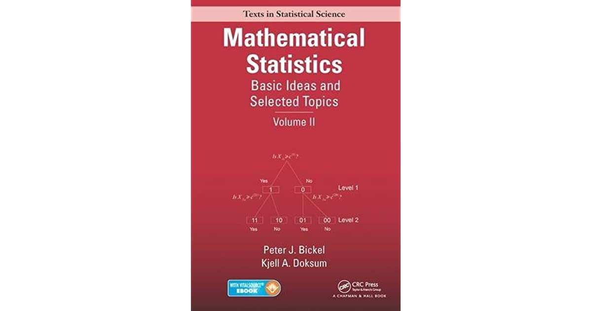 Mathematical Statistics: Basic Ideas and Selected Topics