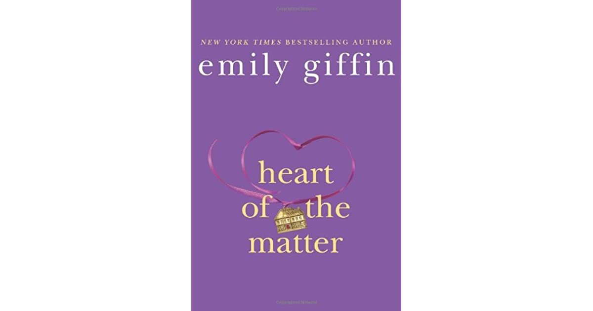 heart of the matter giffin emily