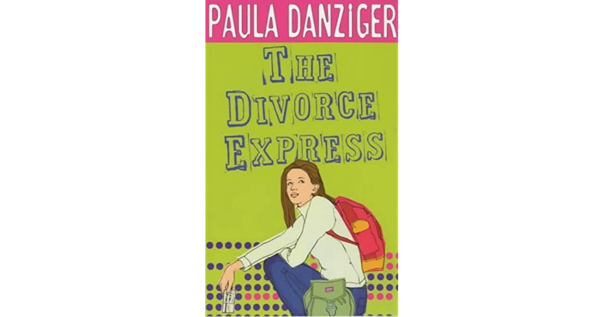 The Divorce Express By Paula Danziger