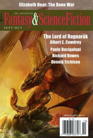 The Magazine of Fantasy & Science Fiction September/October 2015