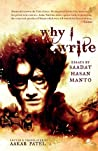 Why I Write: Essays by Saadat Hasan Manto