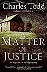 A Matter of Justice (Inspector Ian Rutledge, #11)