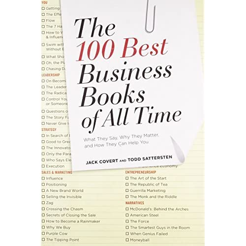The 100 Best Business Books Of All Time What They Say Why They