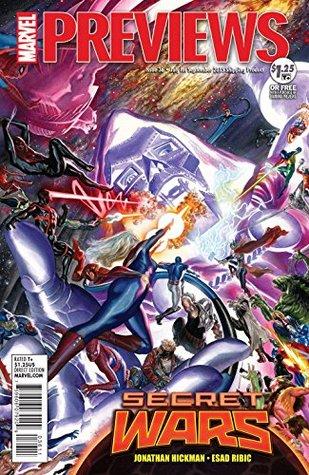 September 2015 Marvel Previews
