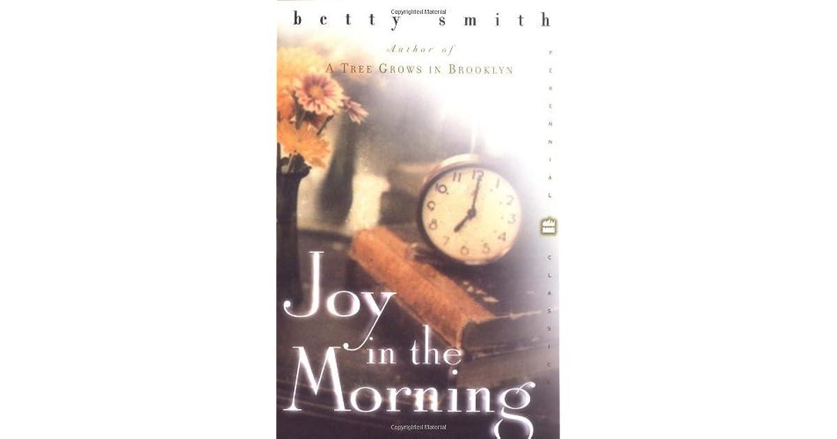 Admirable morning joy