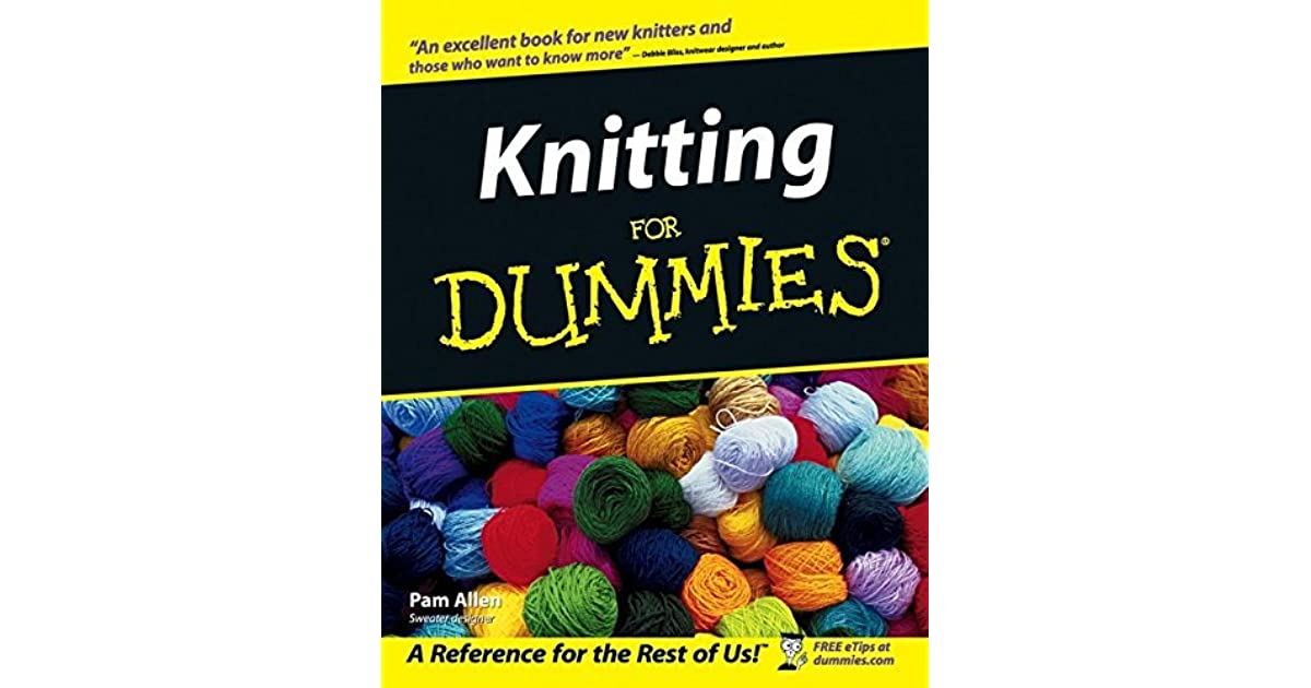knitting for dummies by pam allen - Strickliesel Muster