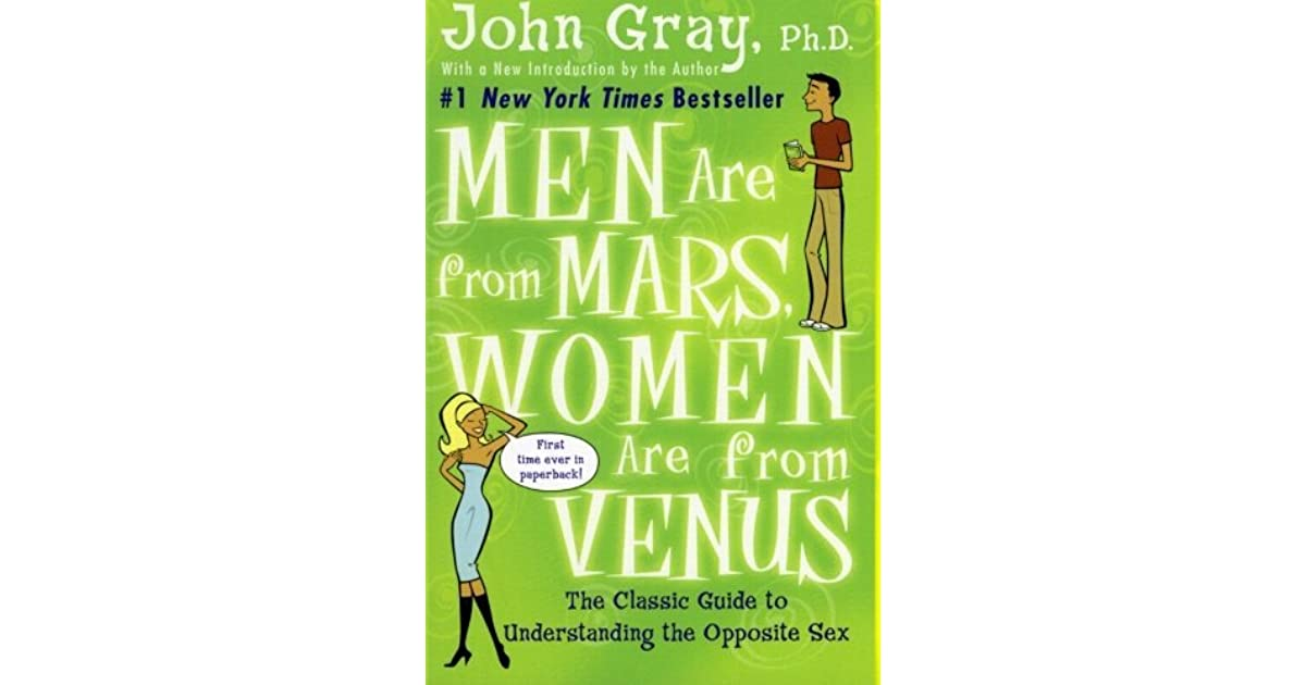 men are from mars women are from venus meaning