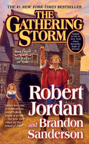 The Gathering Storm - book cover