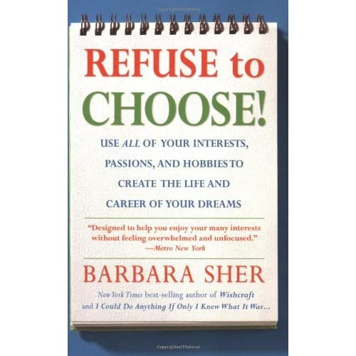 Barbara Sher Refuse To Choose Pdf