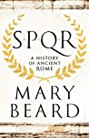 Book cover for SPQR: A History of Ancient Rome