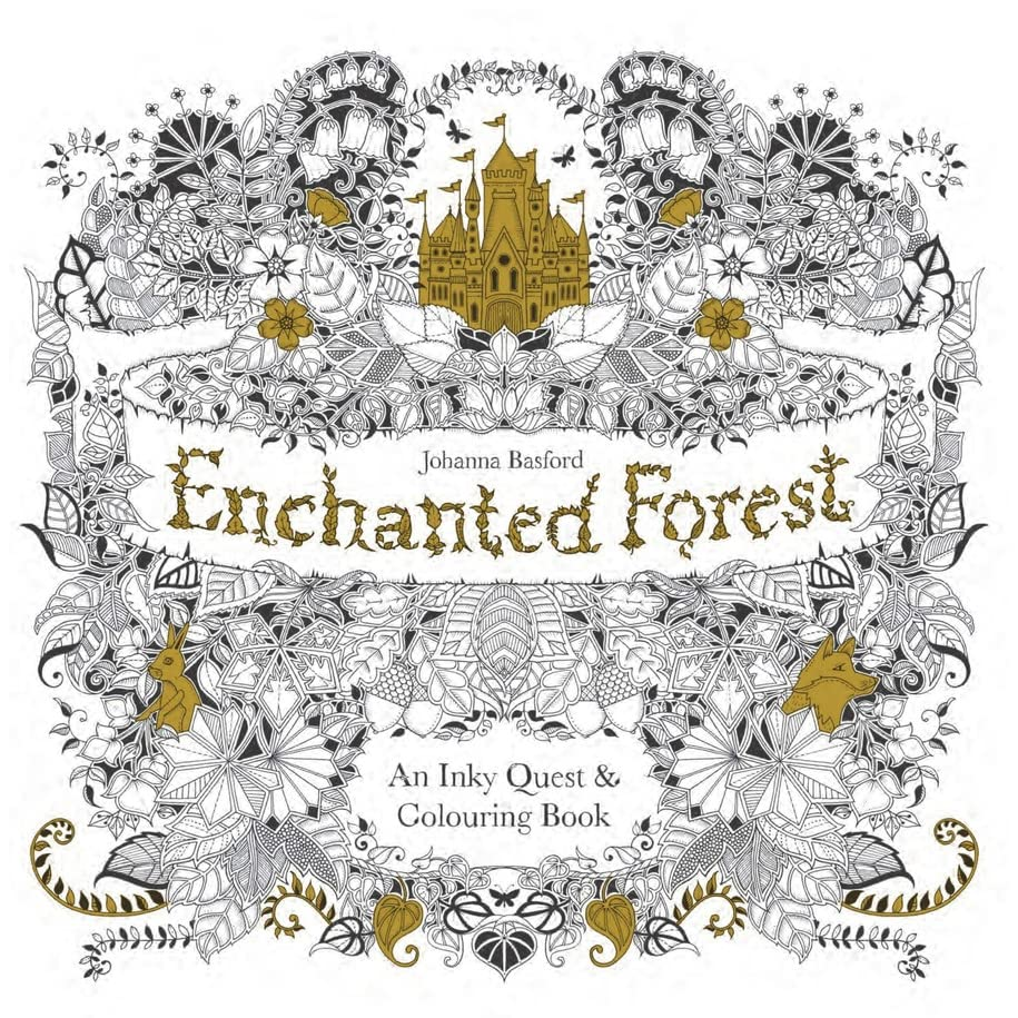 Nafeeza Forest Hills NYs Review Of Enchanted An Inky Quest Colouring Book