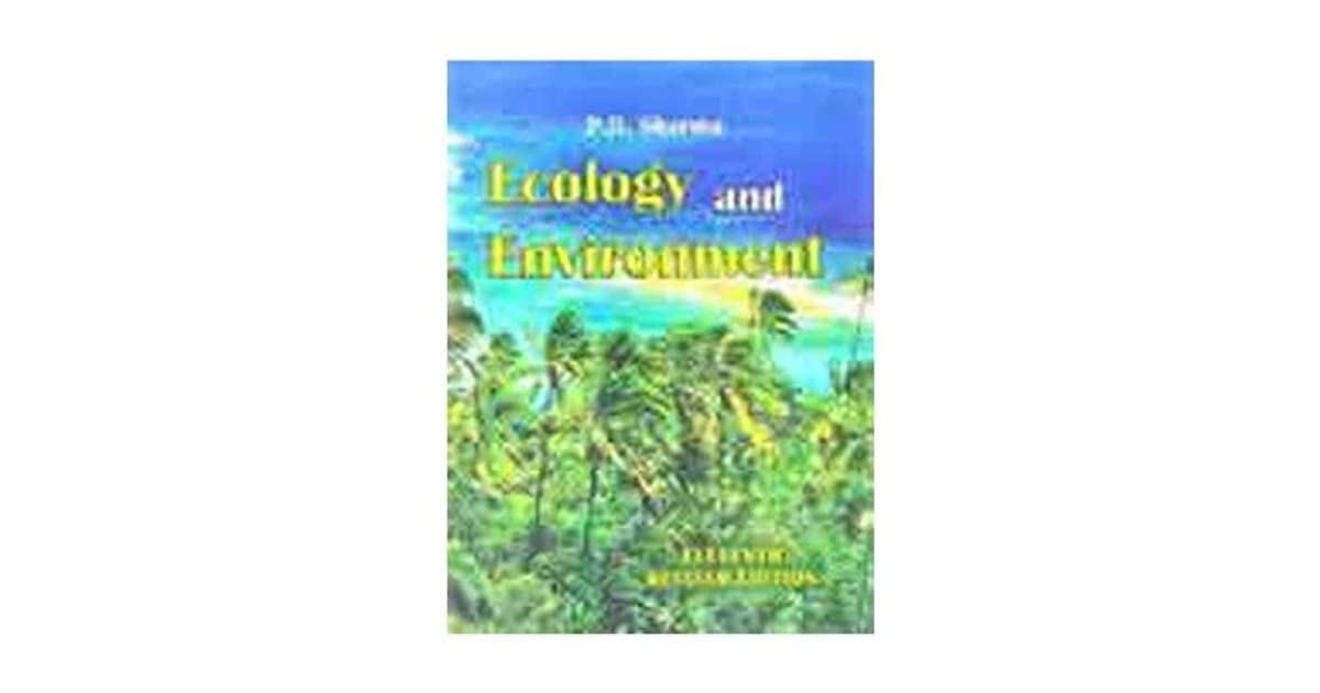 Ecology And Environment Pd Sharma Ebook