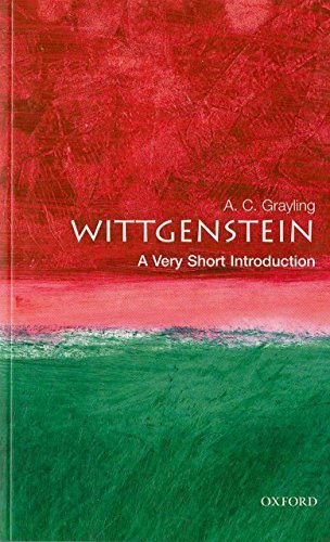 Wittgenstein A Very Short Introduction (Very Short Introductions)