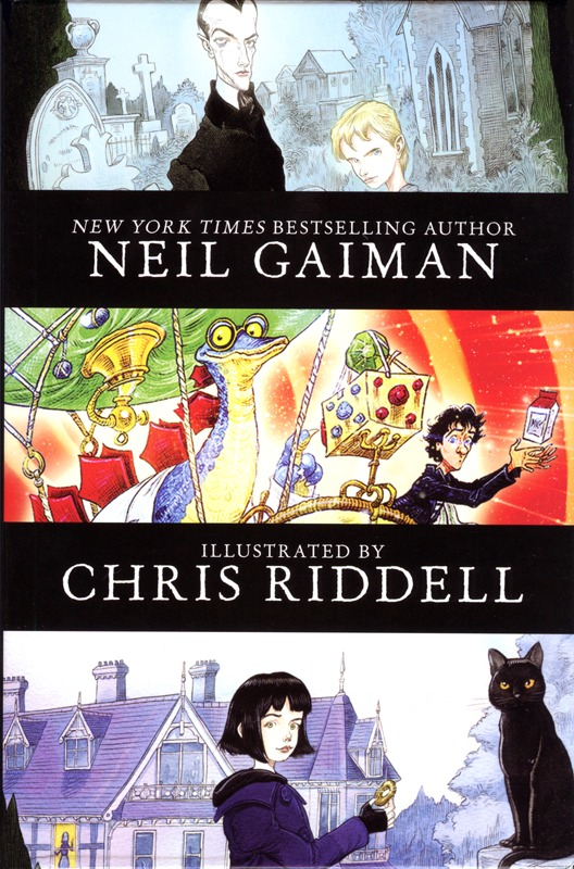 The Graveyard Book - Neil Gaiman, Chris Riddell