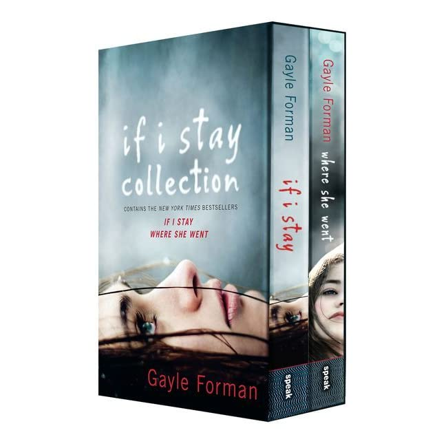 Simple Book Cover Reviews ~ If i stay collection by gayle forman