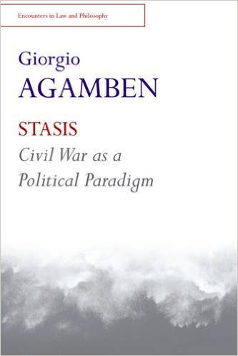 Stasis Civil War as a Political Paradigm