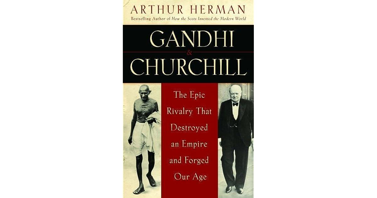 Image result for winston churchill and Mahatma Gandhi book