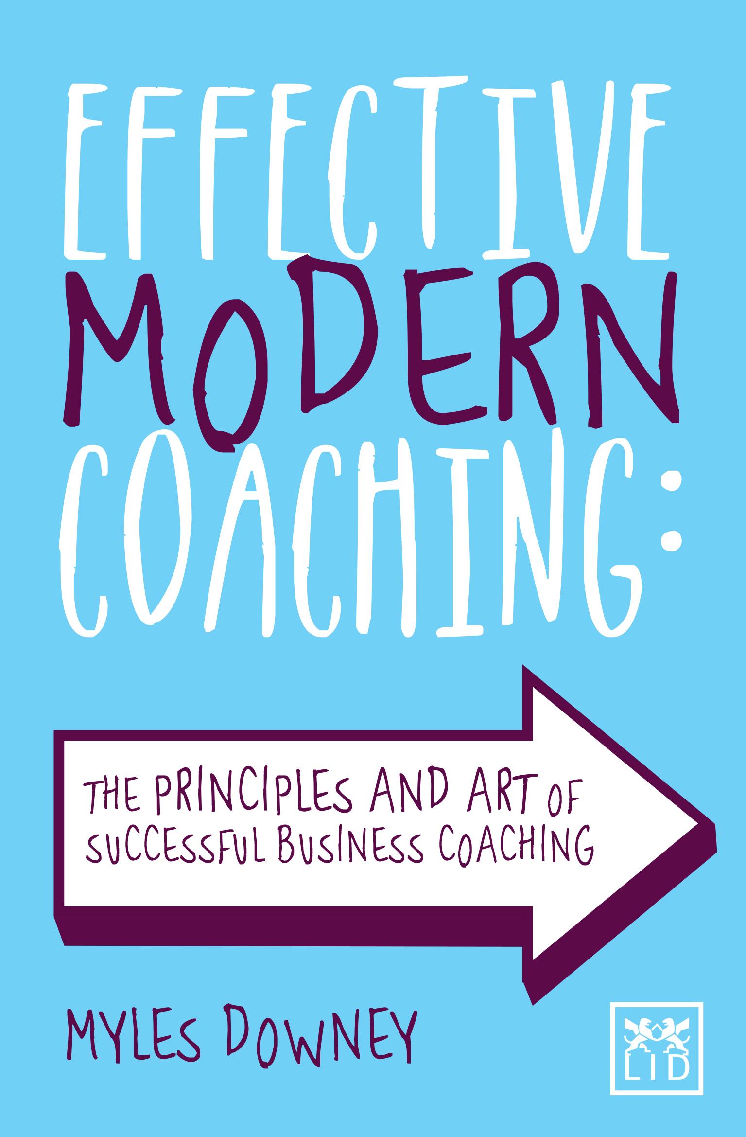 Effective Modern Coaching  Principles