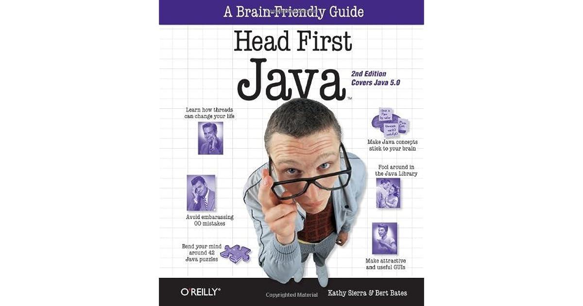 Head first java by kathy sierra fandeluxe Images